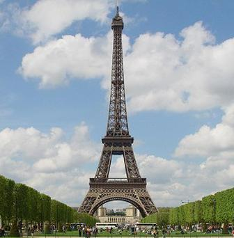 Police in Paris have seized tonnes of miniature Eiffel Towers