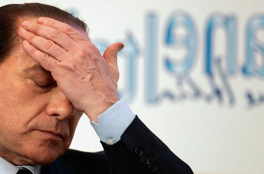 Silvio Berlusconi faces daunting legal and financial challenges, now that he has left office