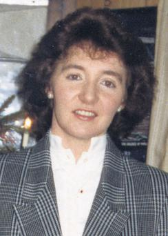 LOST: Priscilla Clarke, from Ardee, Co Louth, who went missing, presumed drowned, in 1988