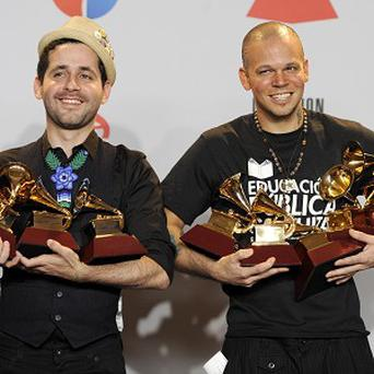 Calle 13 picked up the award for album of the year