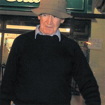 Malcolm Macarthur in Templegrainey, Co Wicklow, yesterday