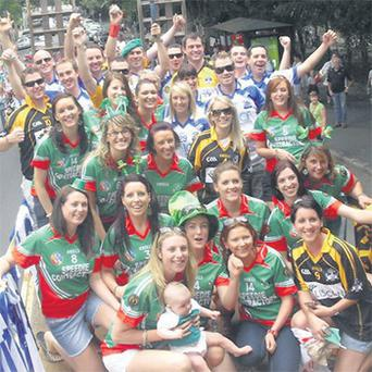 Lots of friendly rivalry as CuChulainn, Na Fianna and Emeralds camogie clubs meet on St Patrick's Day in Melbourne, Australia