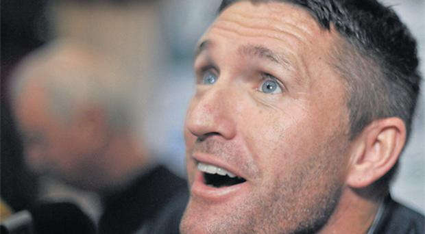 Irish captain Robbie Keane was determined not to miss tonight's Euro 2012 play-off second leg against Estonia