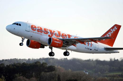 EasyJet has reported a 31.5pc increase in underlying profits to £248m in the year to September 30. Photo: PA