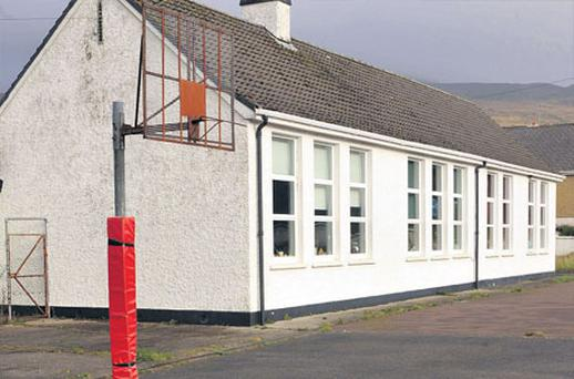 Scoil Mhuire National School, in Clonkeen, about 19 km from Killarney, Co Kerry, which has been left with no pupils