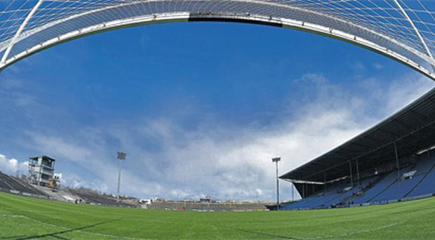 A general view of the redeveloped McHale Park in Castlebar