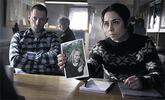TV legend: Sofie Grabol plays the unlikely heroine Sarah Lund in The Killing