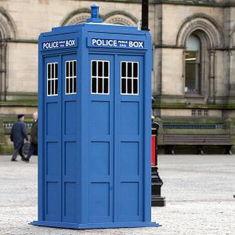 Doctor Who's Tardis looks set to arrive on the big screen again soon