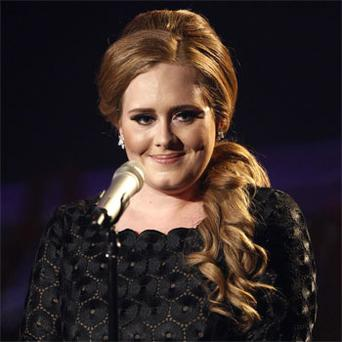 Singing star Adele: 'on the mend'. Photo: PA