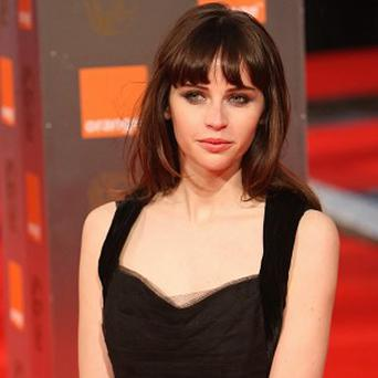 Felicity Jones is being linked to the Howard Hughes biopic