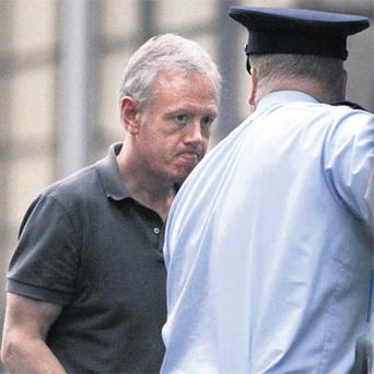 Eamon Lillis, who was jailed last year for killing wife Celine Cawley, at the High Court, Dublin, yesterday