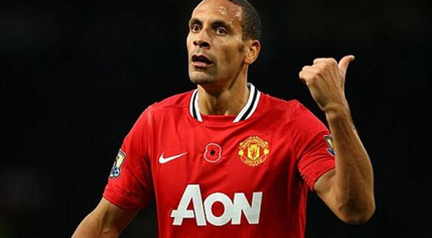 Hitting back: Rio Ferdinand took to Twitter to respond to Sepp Blatter's controversial comments on racism. Photo: Getty Images