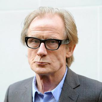 Bill Nighy is currently starring in festive film Arthur Christmas