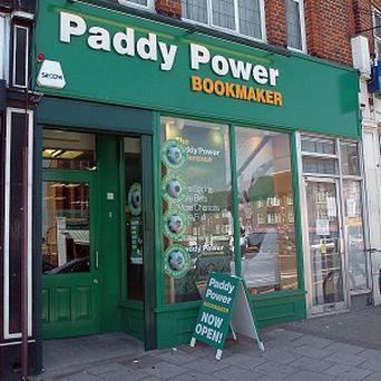 Paddy Power chief executive Patrick Kennedy hailed 'a great first half' for the company