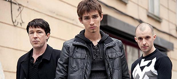 Robert Sheehan, centre, is set to star in a new BBC drama