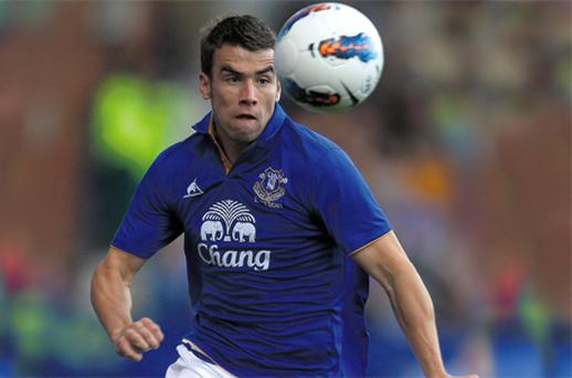 Everton's Seamus Coleman has emerged as a target for rivals Liverpool