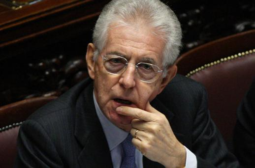 Italy's new prime minister, Mario Monti. Photo: Getty Images
