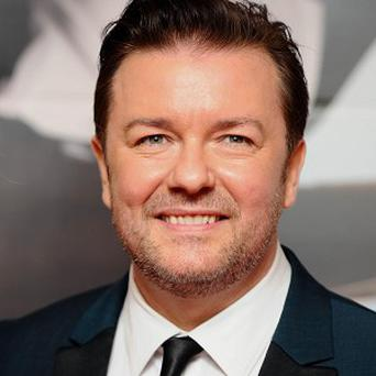 Ricky Gervais will host the Golden Globes for the third time in January