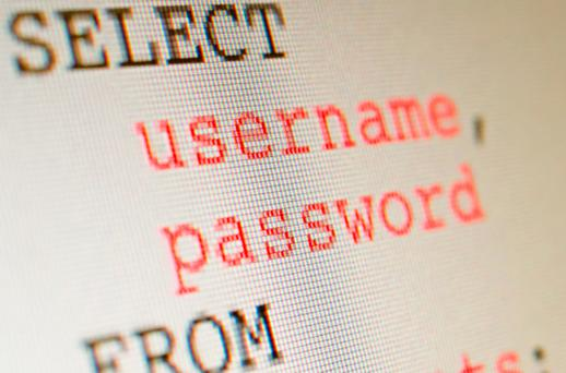 Web users need to choose complicated passwords to protect their security. Photo: Thinkstock