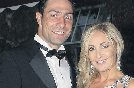 Kenny Egan with current girlfriend Sharon McHugh