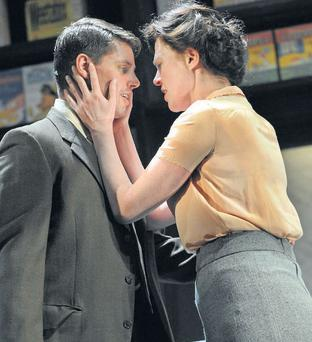 ON TOUR: Keith Duffy and Aisling O'Sullivan in the new production by Druid of 'Big Maggie', by John B Keane