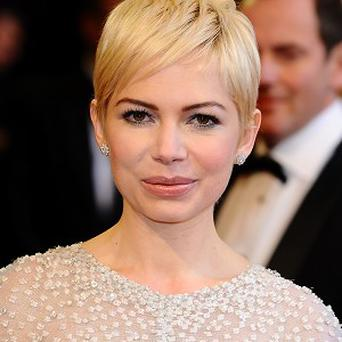 Michelle Williams plays Marilyn Monroe in the film