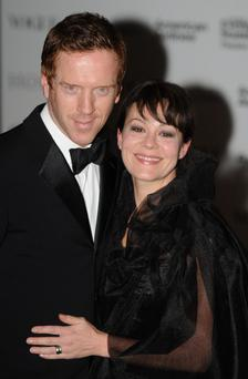 Damian Lewis and Helen McCroryarrive at the Evening Standard Theatre Awards in London. PRESS ASSOCIATION Photo. Picture date: Sunday November 20, 2011. See PA story SHOWBIZ Awards. Photo credit should read: Stefan Rousseau/PA Wire