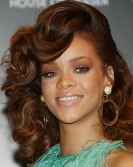 File photo dated 19/08/11 of Rihanna whose former number 1 hit We Found Love bounced its way back to the summit of the singles charts. PRESS ASSOCIATION Photo. Issue date: Sunday November 13, 2011. The song, which features Calvin Harris, climbed one place from Number 2 to deny JLS a sixth Number 1. See PA story SHOWBIZ Charts. Photo credit should read: Yui Mok/PA Wire