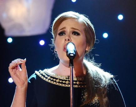 File photo dated 28/04/2011 of Adele, who has told her fans she is