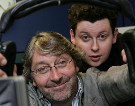 Colm Hayes and Jim Jim Nugent 2fm radio