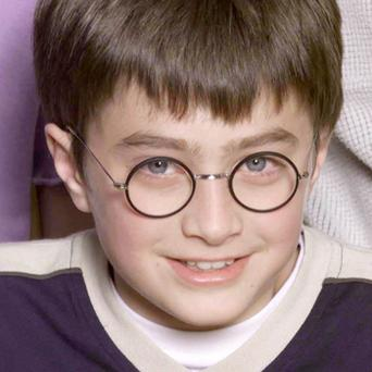 Daniel Radcliffe at a photocall to present the cast of the Harry Potter Films in 2000. Photo: Getty Images