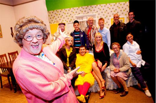 BBC bosses have commissioned a third series of hit sitcom Mrs Brown's Boys. Photo: Collins