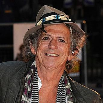 Keith Richards said he's made up with Mick Jagger