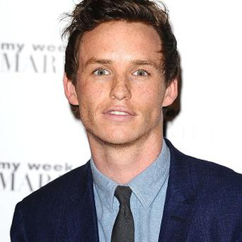 Eddie Redmayne found filming in a lake chilly work