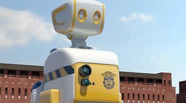 Prison guard robot: Three robots will be tested at a correctional facility in the southeastern city of Pohang next March when development is completed