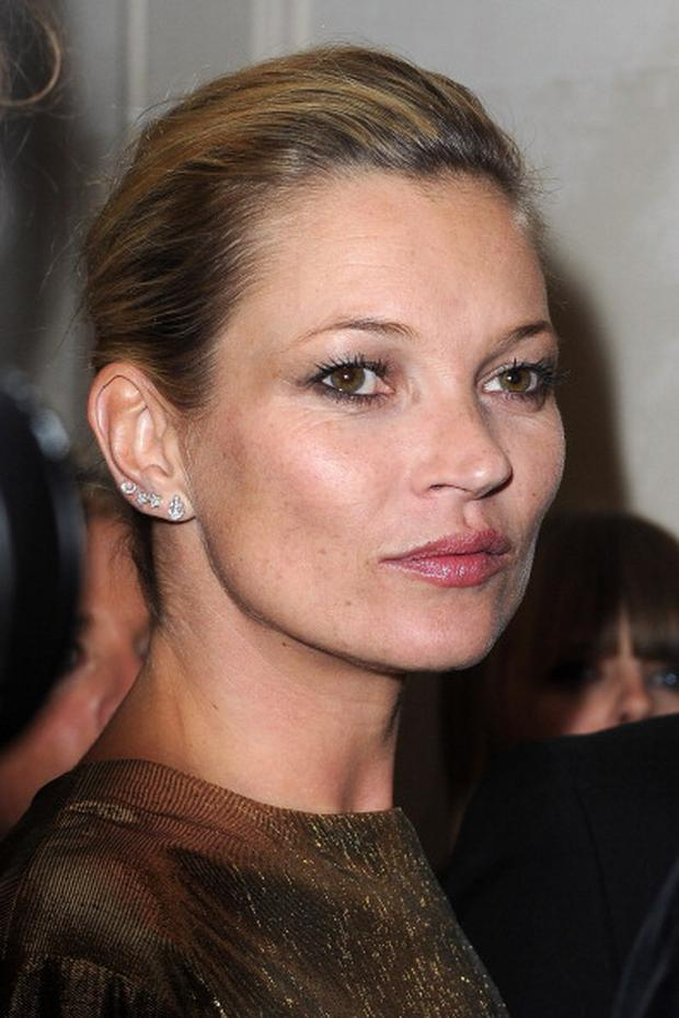 PARIS, FRANCE - OCTOBER 04: Kate Moss attends Kate Moss for Fred jewellery launch during Paris Fashion Week at Hotel Ritz on October 4, 2011 in Paris, France. (Photo by Pascal Le Segretain/Getty Images)