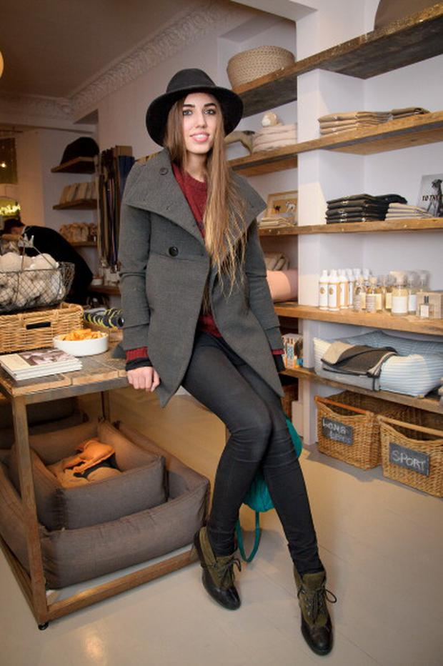 LONDON, UNITED KINGDOM - NOVEMBER 22: Amber le Bon attends the Diggin' Dog Party at Mungo and Maud, Elizabeth Street on November 22, 2011 in London, England. (Photo by Nick Harvey/WireImage)