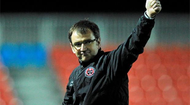 Fenlon has signed a contract to move to Edinburgh from Bohemians until the end of the 2013/14 season. Photo: Sportsfile
