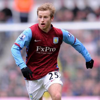 Aston Villa footballer Barry Bannan who is in court charged with a string of driving offences following a motorway crash. Photo: PA