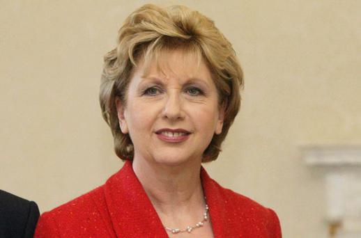 Mary McAleese: plans to continue her legal studies in Rome