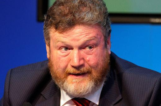 Health Minister James Reilly's warnings of drastic measures have backfired ahead of the Budget. Photo: FRANK McGRATH