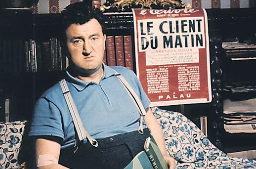 Absent all day: Brendan Behan didn't live up to the job spec for a lighthouse painter