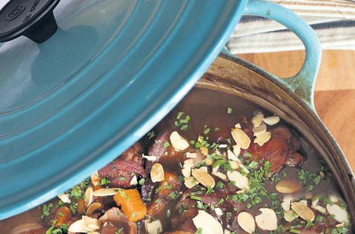Chicken casserole with sweet potatoes
