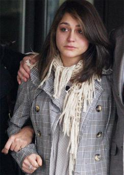 Katherine Goldberg who pleaded guilty at a previous hearing to sexual assault and being drunk on an aircraft