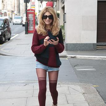 Nicola Roberts likes to experiment with her image