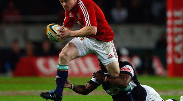 Brian O'Driscoll in action for the British and Irish Lions in 2009. Photo: Getty Images