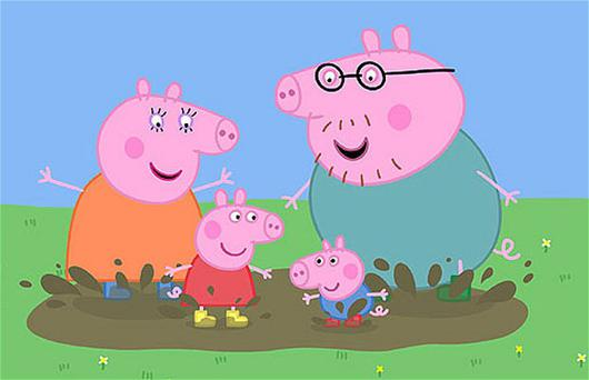 Children's animation Peppa Pig won two gongs at the 2011 Academy Children's Awards.