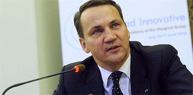 Polish foreign minister Radoslaw Sikorski. Photo: Getty Images
