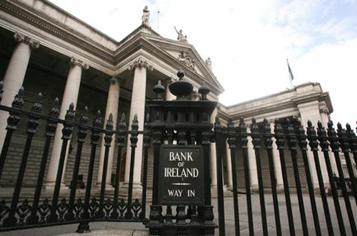 Investors were boosted by the news that Bank of Ireland (BoI) had earned nearly €500m on a sale of loans to Japanese bank Sumitumo. Photo: Getty Images