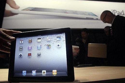 Rumours suggest that a new iPad could launch in March. Photo: AP